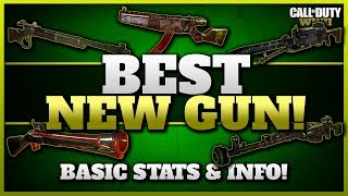 Best New Gun in CoD WW2! | Basic Stats! (Nambu, Stinger, Blunderbuss, PTRS, & Lever Action)