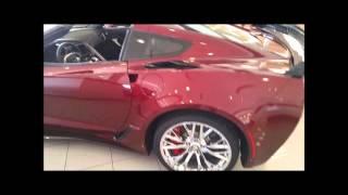Night Race Blue & Long Beach Red Corvette Z06