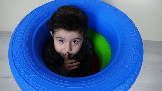Saklambaç Oynadık! Kids pretend play with Hide and Seek