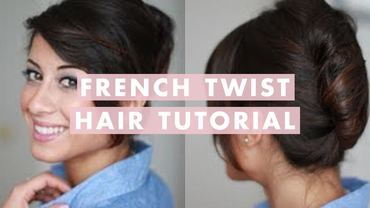 French Twist Hair Tutorial Youtube