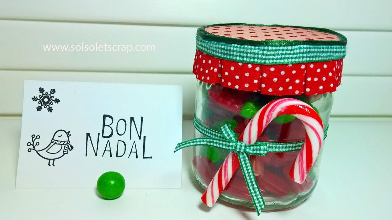Regalo de navidad bote de caramelos youtube - Caramelos de navidad ...