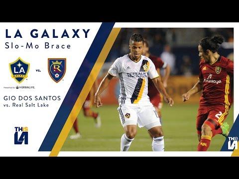 SLO-MO GOALS: Giovani dos Santos scores a brace in Salt Lake City
