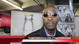 BARRY HUNTER:  ERROL SPENCE GAVE BRONER A GOOD SHOT I WAS THERE