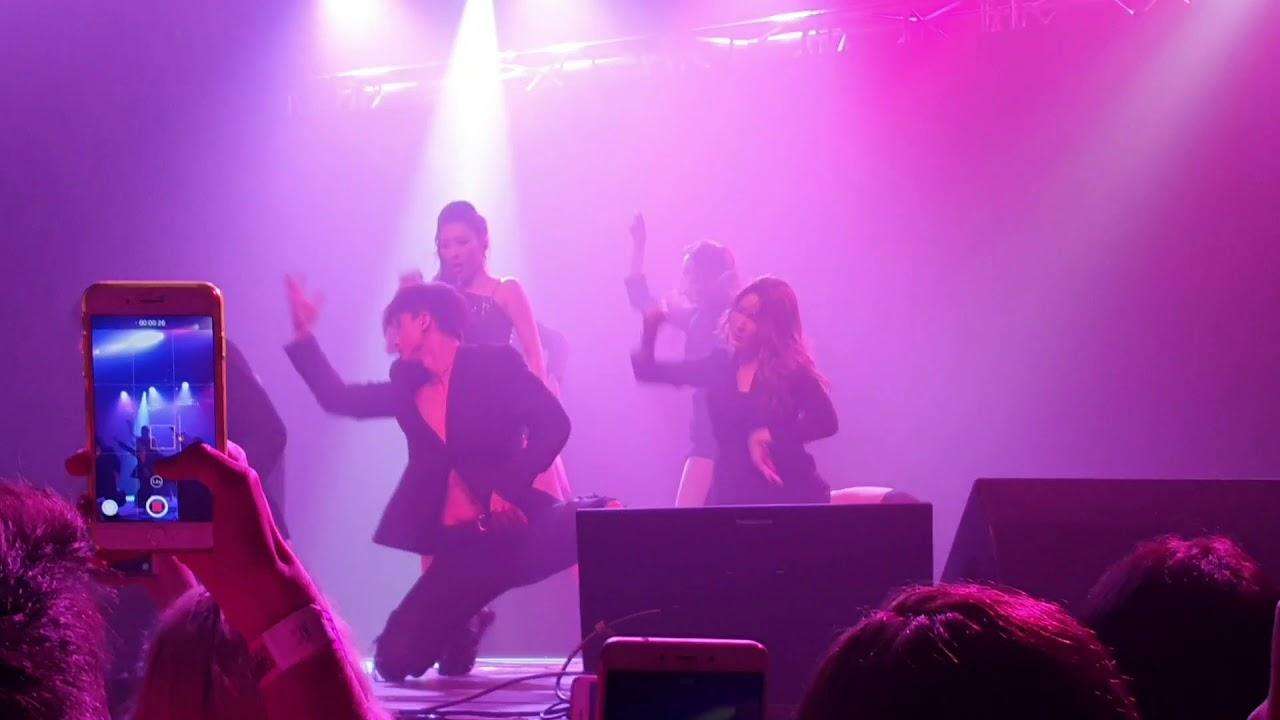 Sunmi 선미 Addict Extended Version Intro Video Warning Tour Berlin Germany Fancam 직캠