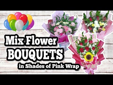 HOW TO WRAP ASSORTED FLOWER BOUQUET | Vanessa Canobas