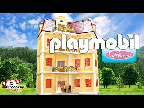 playmobil-dollhouse!-large-grand-mansion-and-12-add-on-sets!
