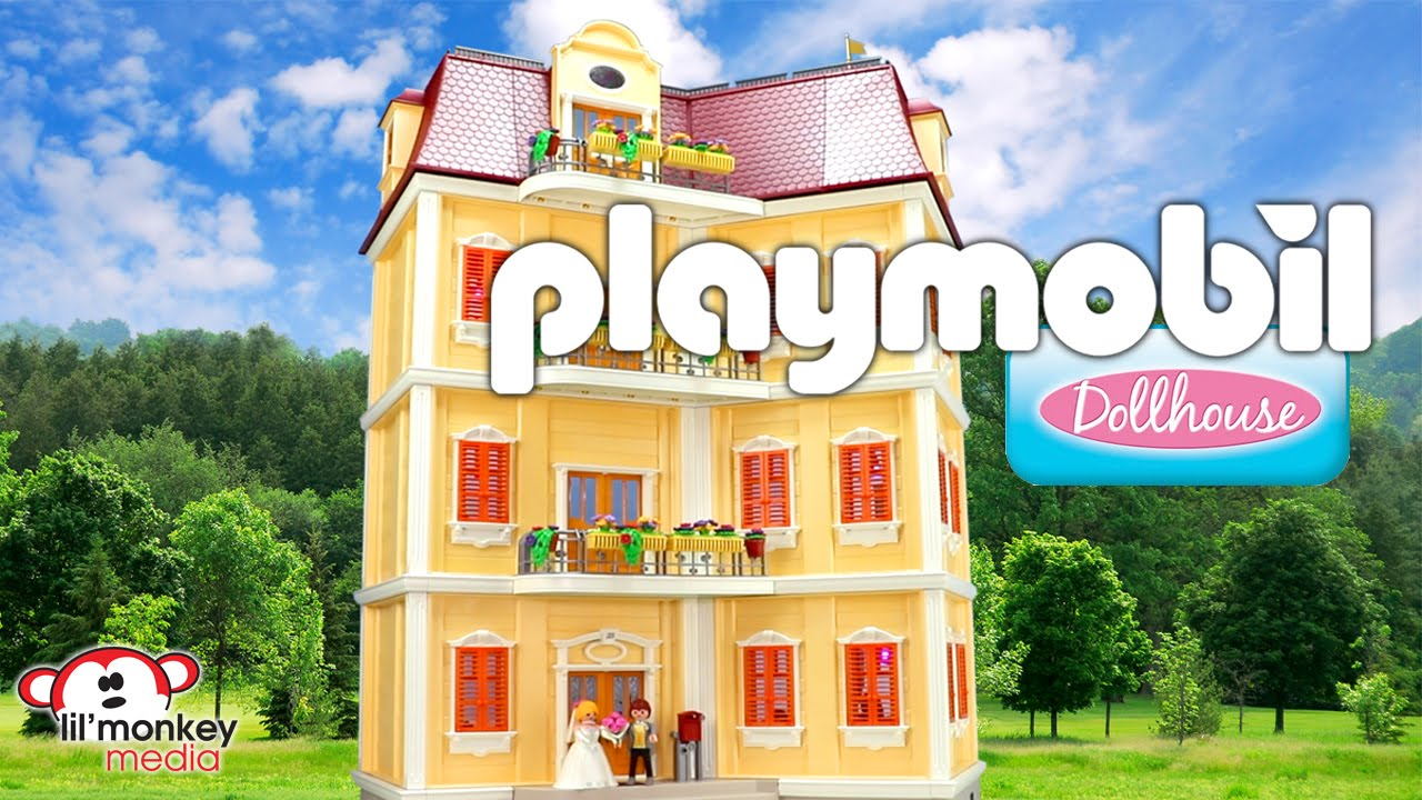 Dollhouse Playmobil Playmobil Dollhouse Large Grand Mansion And 12 Add On Sets