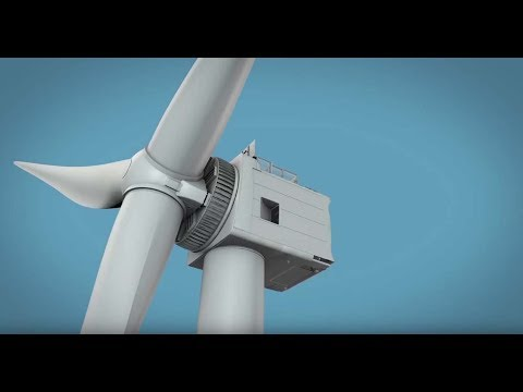 GE Haliade-X, The Biggest Windturbine In The World Now Build In Rotterdam In 2019