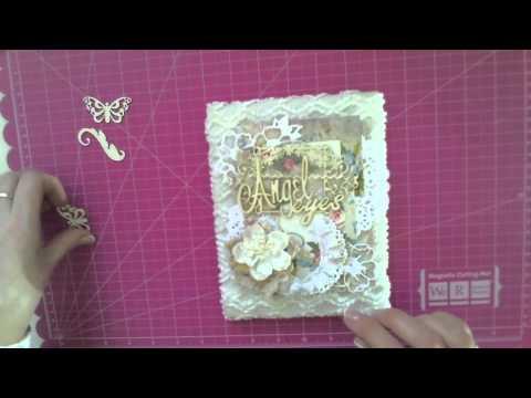 видео: Скрапбукинг Мастер класс от lae