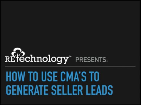 RETechnology.com: How To Use CMAs to Generate Seller Leads
