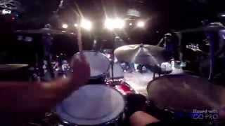 "CONVERGE - ""All We Love We Leave Behind"" Live Ben Koller drumcam Rain Fest Seattle 2014"