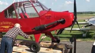 Little Wing autogyro gyroplane flown at Carolina Barnstormers Fly-in