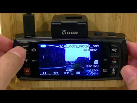 DOD LS475W Video Playback