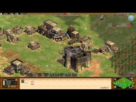 AoE2- Noob Game - Exciting Play - Turk 1v1