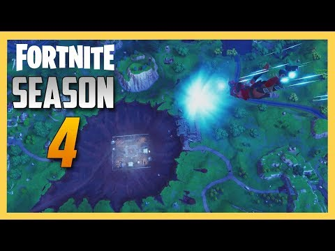 Fortnite Season 4 Battle Pass, Challenges, And Crater! | Swiftor