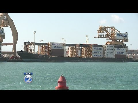 Manpower shortage at Honolulu Harbor as West Coast dispute continues
