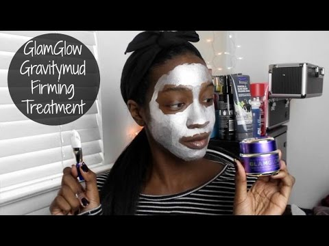 Glamglow Gravitymud Firming Treatment Mask Demo Review Youtube