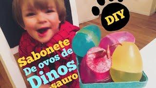 SABONETE DE OVO DE DINOSSAURO- DIY