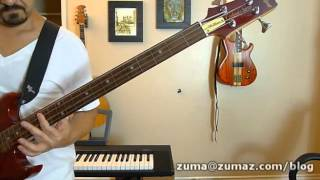Duran Duran - Lonely In Your Nightmare - bass lesson