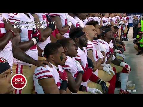 Vice President Mike Pence Leaves Colts, 49ers Game After Protest | The View