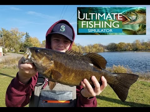 Ultimate Fishing Simulator- Getting Started!!