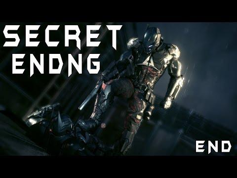 Batman Arkham Knight Gameplay Walkthrough SECRET ENDING - Batman Arkham KnightFall - Part ENDING