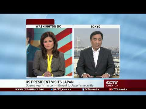 Obama Reassures Japan on Diaoyu Islands