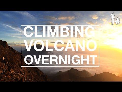 CLIMBING MT MERAPI OVERNIGHT