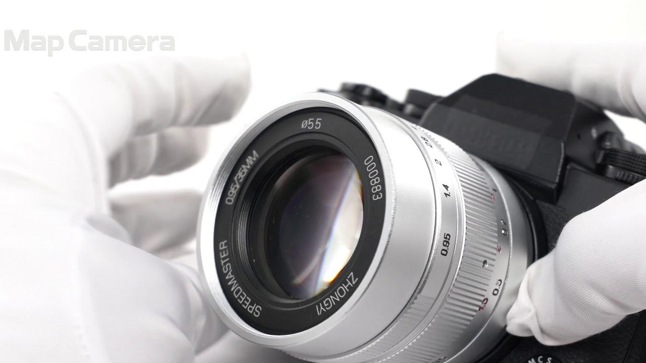 中一光學 SPEEDMASTER 35mm F0.95 II (フジフイルムX用) 良品 - YouTube