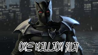 Blackgate - One Million Batsuit Pieces (All Locations)