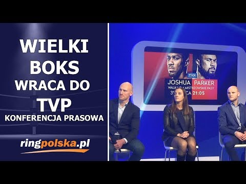 WIELKI BOKS WRACA DO TVP!!! - KONFERENCJA PRASOWA