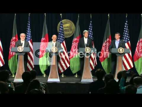 SECY KERRY MEETS WITH AFGHANISTAN PRESIDENT