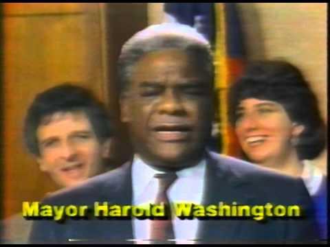 """March 1987 - Ed Vrdolyak Says Harold Washington """"Scared"""" to Debate"""
