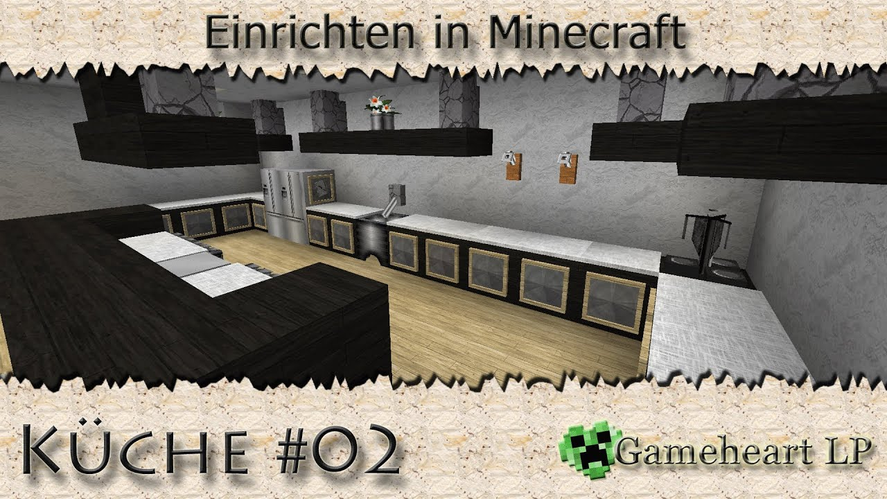 minecraft k che 02 einrichten in minecraft youtube. Black Bedroom Furniture Sets. Home Design Ideas