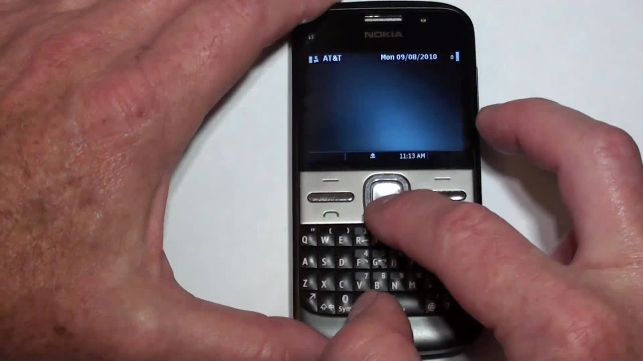 how to hard reset nokia e5 and similar symbian phones using the best rh youtube com Nokia C7-00 Nokia C7-00