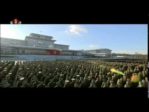 Memorial Service on Third Anniversary of Demise of Kim Jong Il (1)
