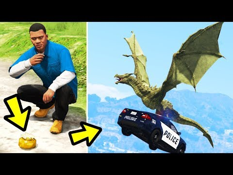 GTA 5 - The DRAGON Peyote Plant!! (Los Santos Takeover)