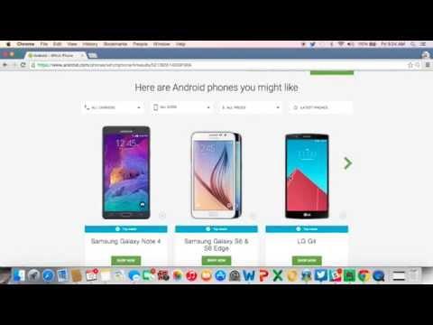 No sabe cuál SmartPhone con Android es mejor para usted? Deje que Google le recomiende! - TECHcetera