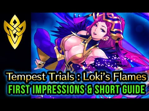 FEH Tempest Trials 'Loki's Flames' First Impressions and Short Guide! | Fire Emblem Heroes