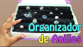 35. Manualidades: Como hacer Organizador de anillos (Reciclaje) Ecobrisa