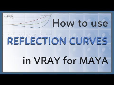 How to use Reflection Curves in Vray for Maya
