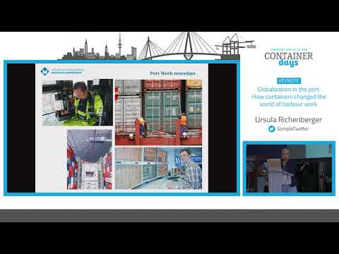 Globalization in the port. How containers changed the world of harbour work – Ursula Richenberger