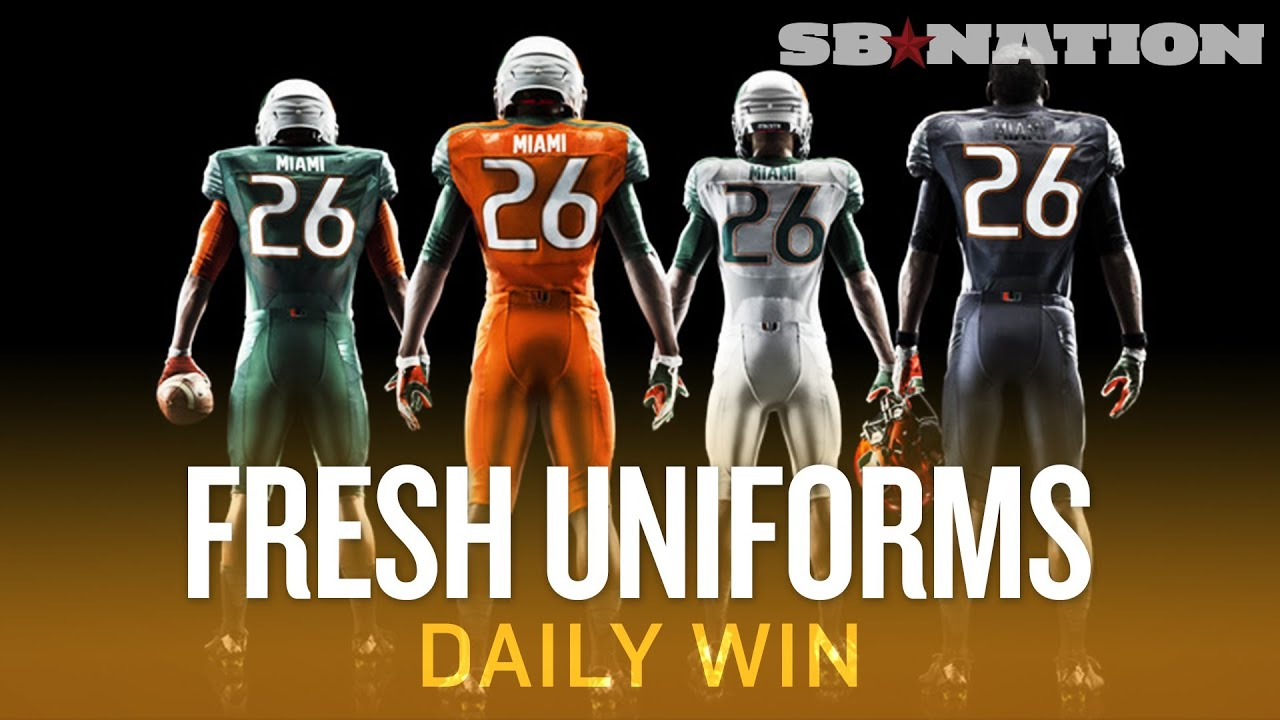 Coolest of 2014 s new college football uniforms daily win youtube