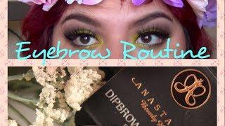 My Eyebrow Routine | Anastasia Dip Brow Pomade Thumbnail
