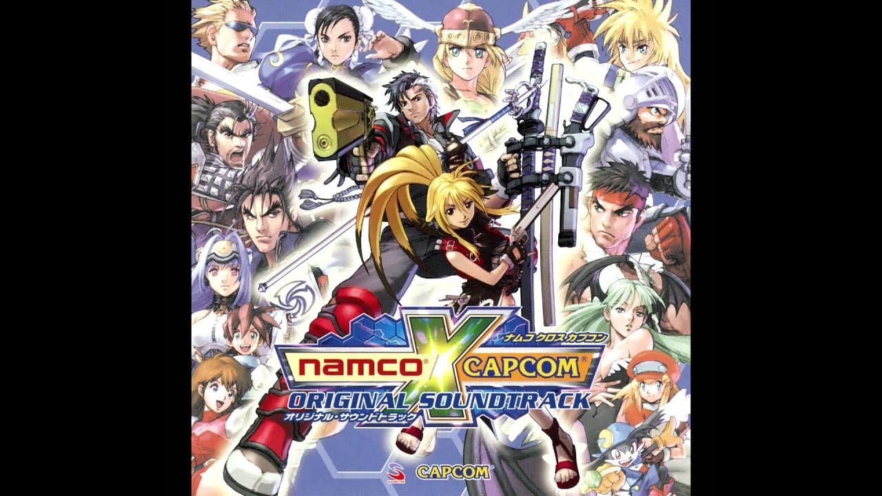 Namco X Capcom Original Soundtrack Disc 2 Cpca 10119