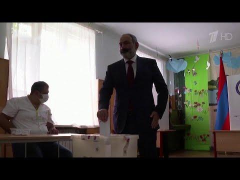 В Армении уже объявлены первые результаты парламентских выборов.
