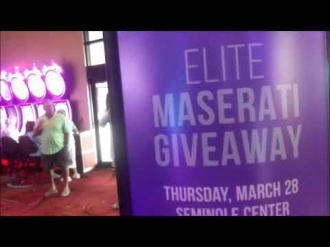 Seminole Casino, Immokalee, FL Gives Away A Maserati