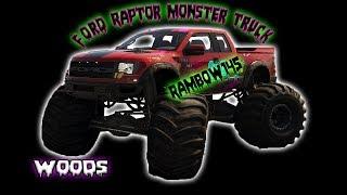 The Crew 2 Ford Raptor Monster Truck