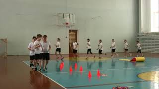Урок физкультуры, 4 кл., учитель - Пиняева А. И., МБОУ   лицей №24 города Орла
