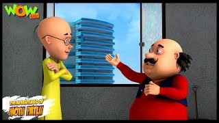 Motu Patlu New Episode | Hindi Cartoons For Kids | Trapped In The Tower | Wow Kidz